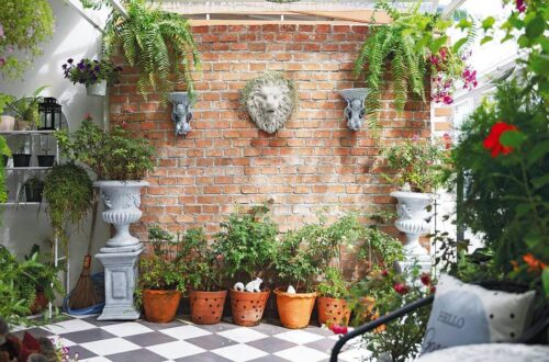 Make your townhome garden beautiful and inviting.