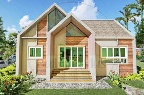 What are the characteristics of European houses?